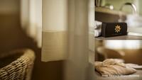 Dettaglio camera e kit cortesia