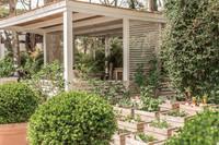 Gazebo in giardino e orto del Saraceno