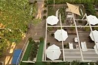 Vista del giardino Hotel Saraceno