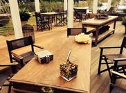 Tavoli in giardino