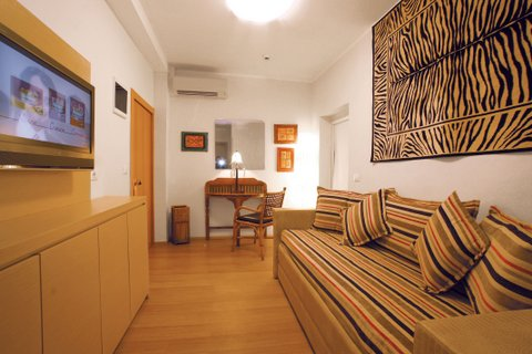 Suite Hotel Saraceno 4 stelle Milano Marittima, living suite zona soggiorno