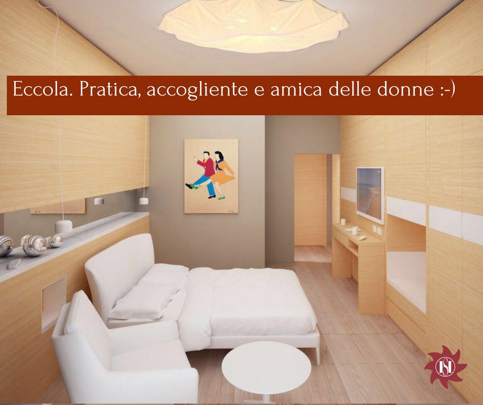 Camera rinnovata hotel saraceno milano marittima