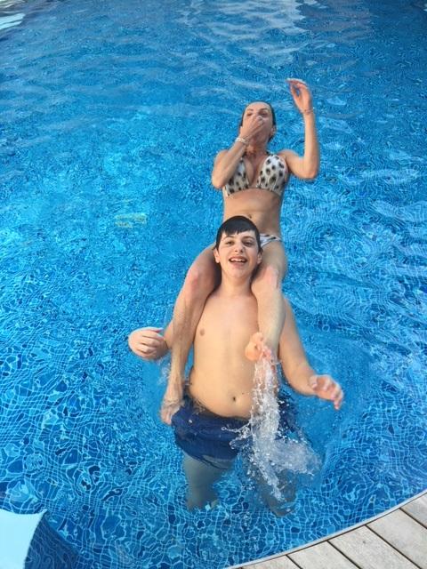 Hotel milano marittima piscina idromassaggio