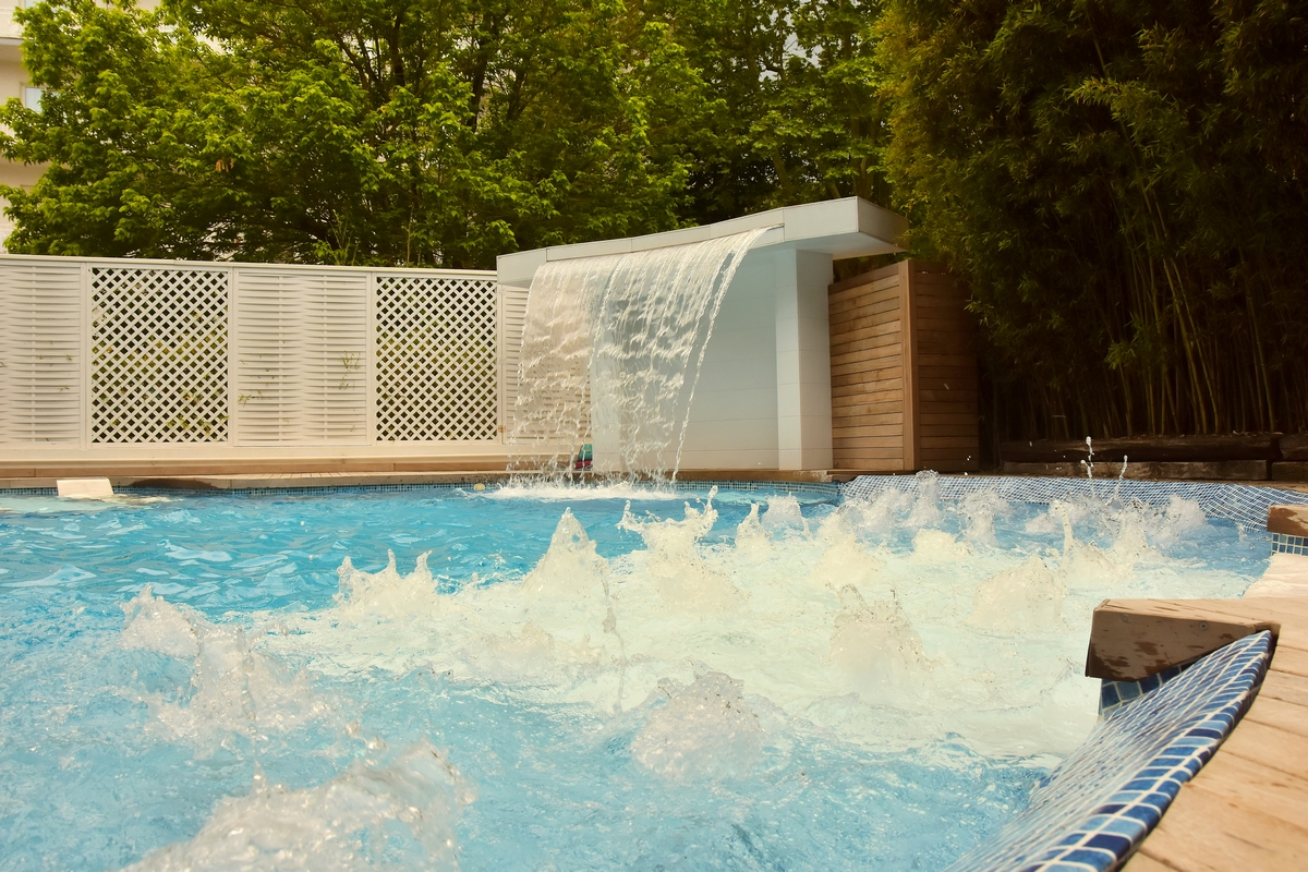 piscina riscaldata hotel saraceno