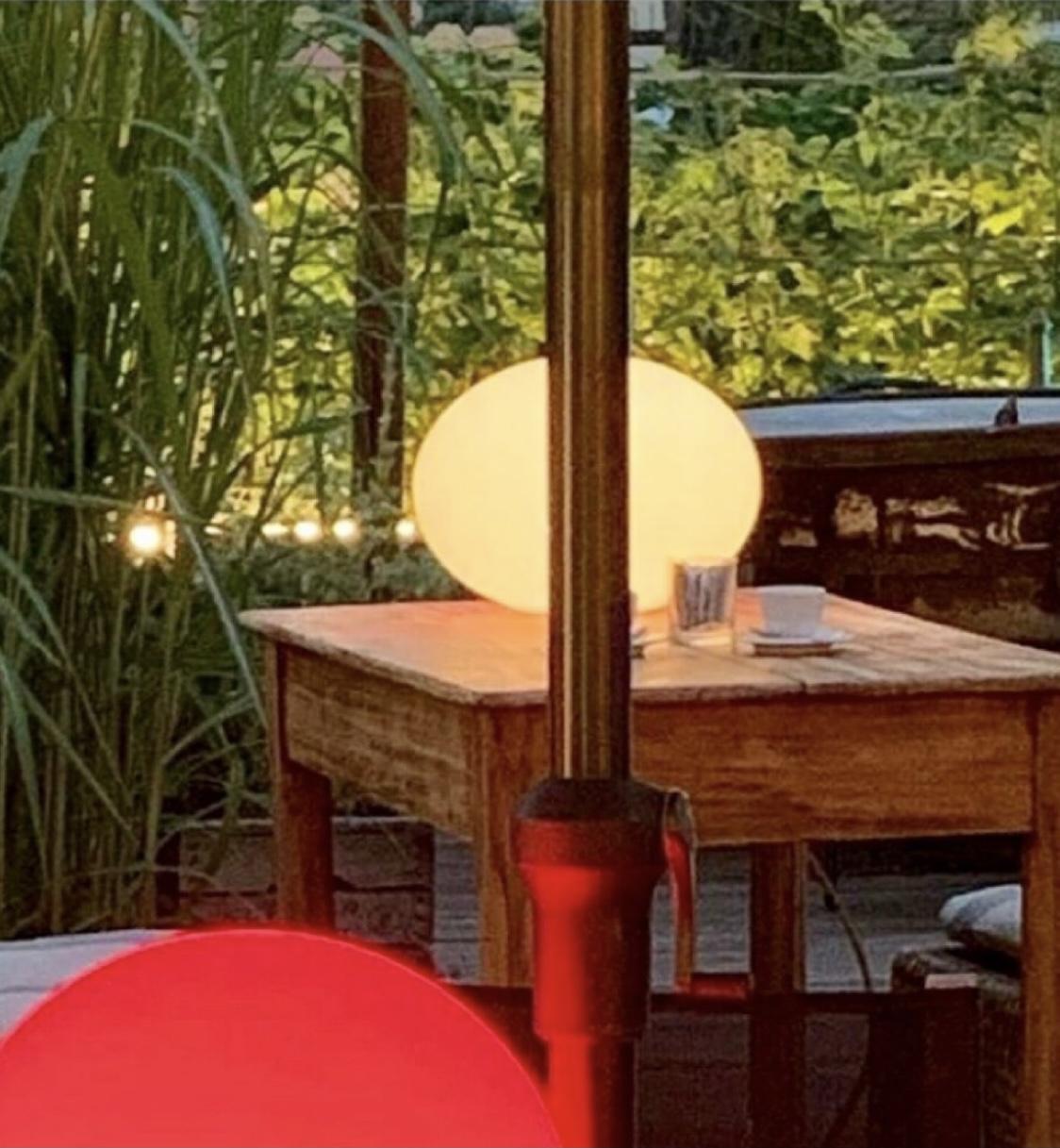 Palle colorate giardino hotel saraceno 4 stelle milano marittima
