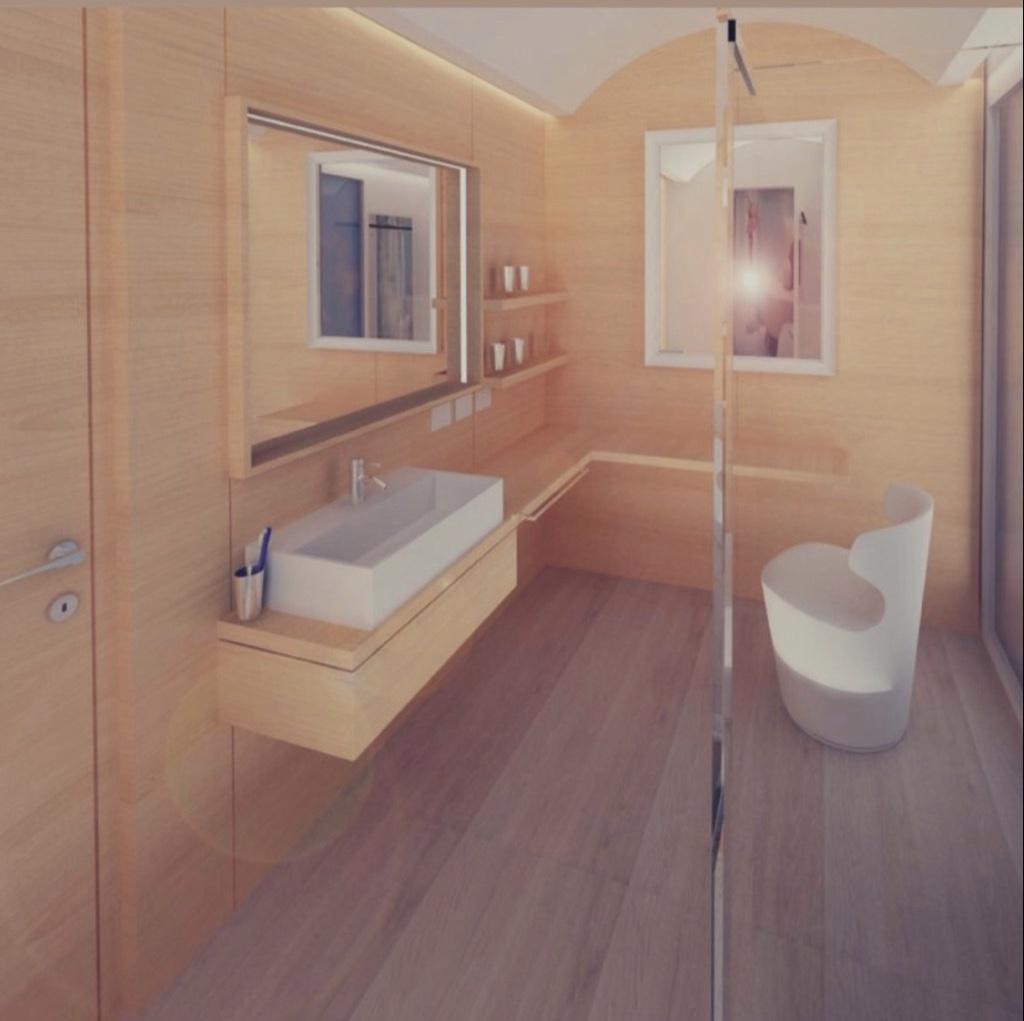Nuovo bagno junior suite hotel saraceno 4 stelle