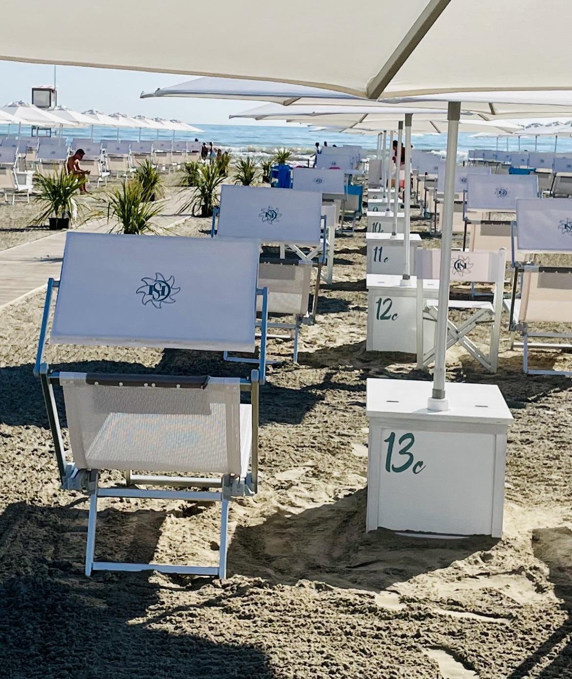 bagno giuliano 247 milano marittima ombrelloni distanziati aperitivo sulla spiaggia lungomare milano marittima bagno con parcheggio privato