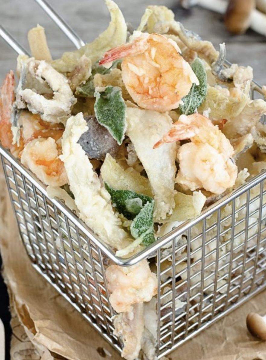 fritto misto di pesce hotel saraceno