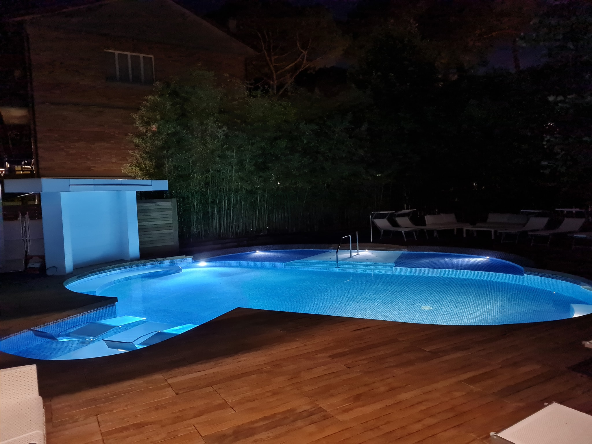 hotel saraceno milano marittima piscina riscaldata notturna