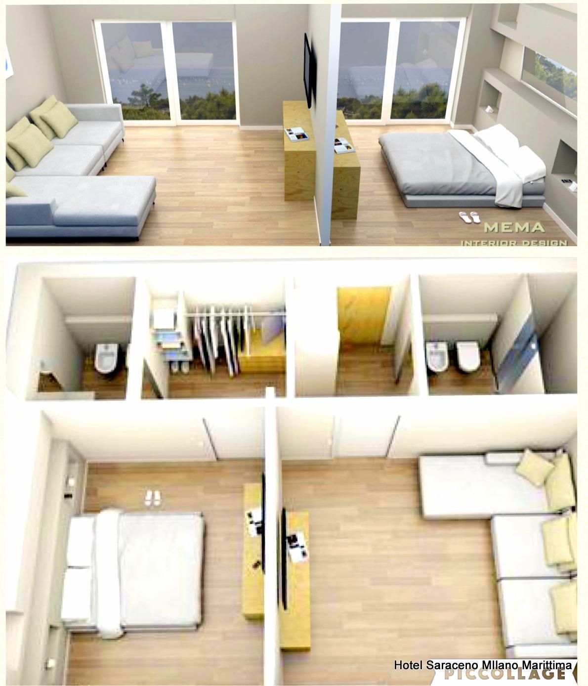suite family con camere comunicanti, camera familiare hotel saraceno 4 stelle milano marittima