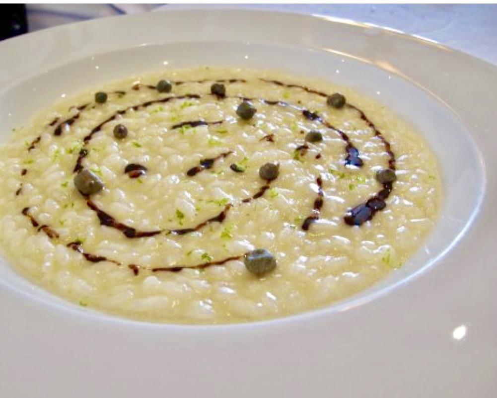 risotto aceto balsamico hotel saraceno