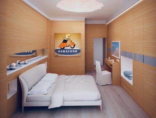 camera rinnovata hotel 4 stelle milano marittima