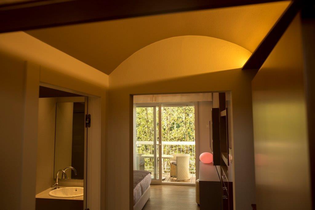 Camera Superior con balcone Hotel 4 stelle Milano Marittima